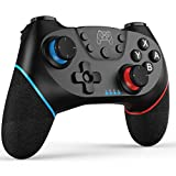 JAMSWALL Wireless Controller für Nintendo Switch, Bluetooth Switch Pro Controller Rechargeable Switch Gamepad Joystick mit Double Shock,Turbo Funktion und Six-axis Gyro für Nintendo Switch/Switch Lite